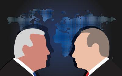 Biden versus Poetin; wat doet Europa?
